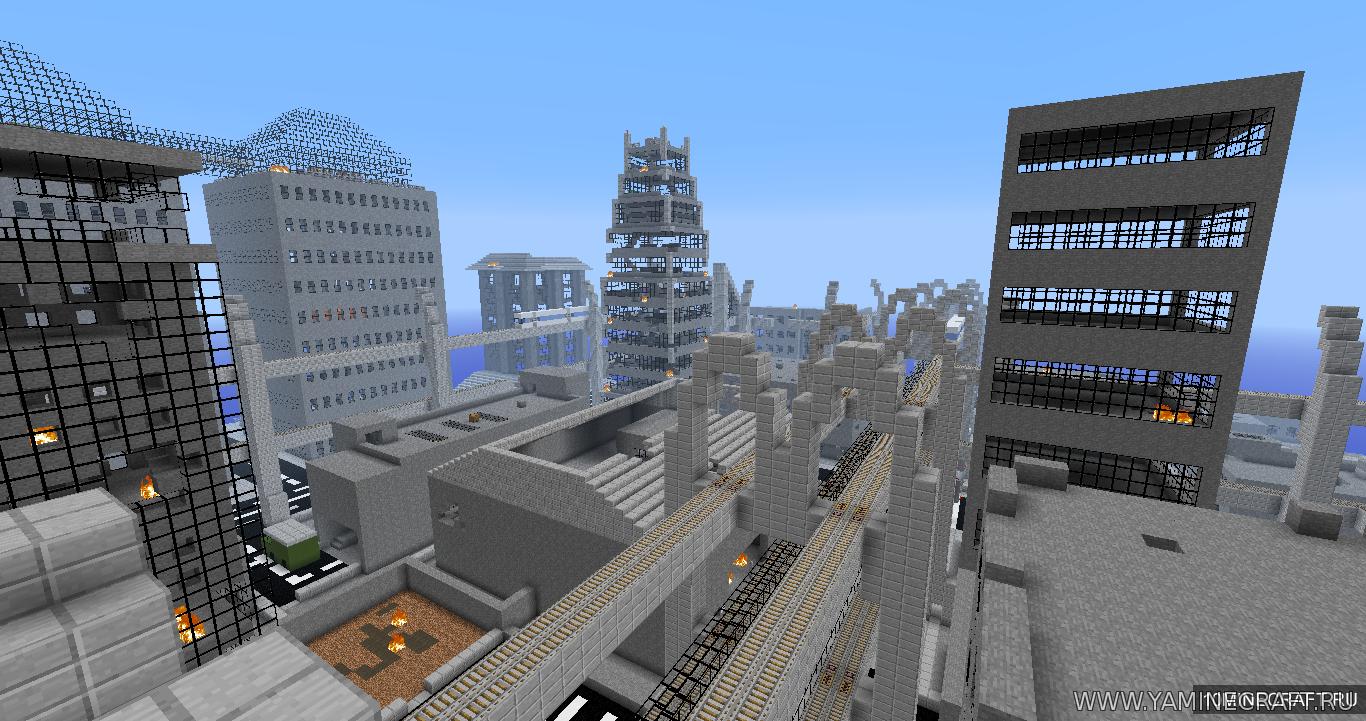Скачать карту New York City для Minecraft бесплатно ...