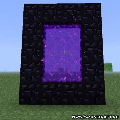 Как в minecraft сделать ворота в рай