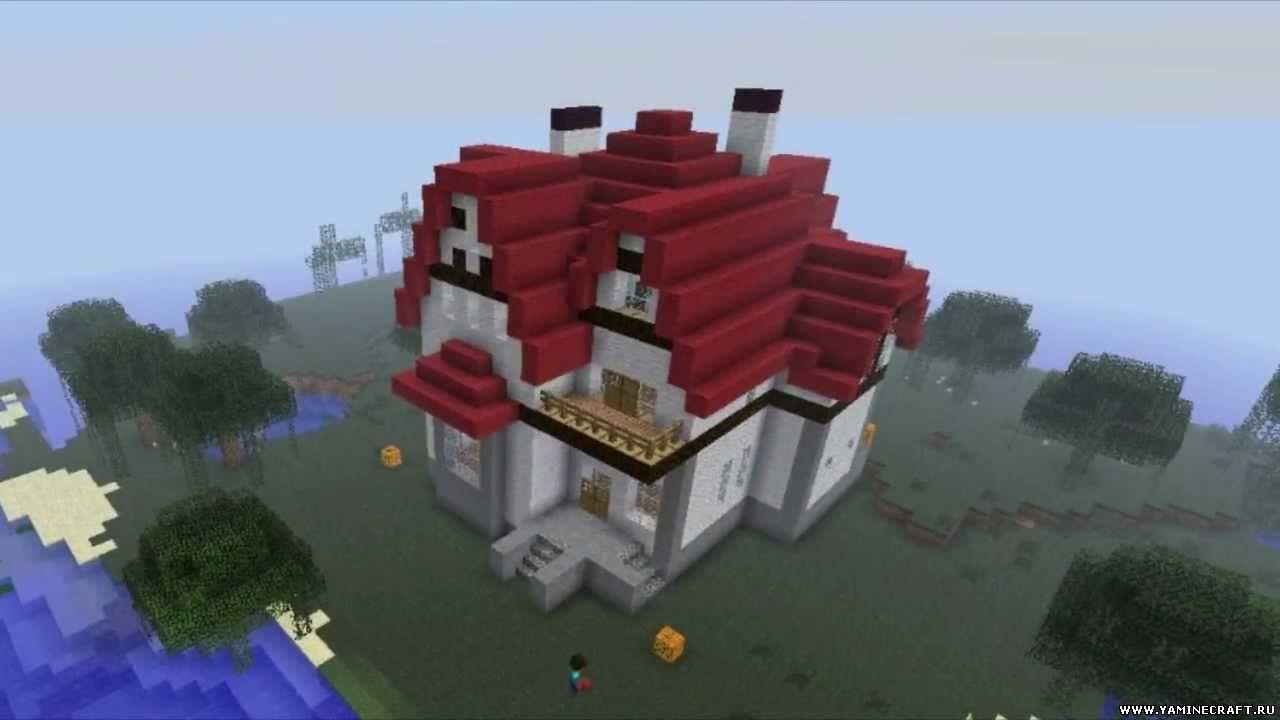 как строить красивые дома в майнкрафте видео